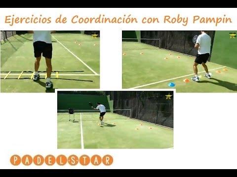 Ejercicios En Circuito Y Coordinacion : Video u circuito de coordinación en pádel padelstar