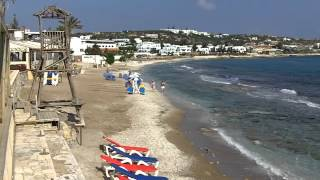 Hersonissos, Crete - beach areas to west of the Town(This video shows the beach areas and coastline to the west of Hersonissos. This is the path you use to get into Hersonissos from the hotels to the west such as ..., 2012-05-31T08:03:50.000Z)