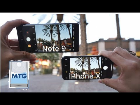 Note 9 vs iPhone X: In-Depth Camera Test Comparison