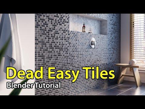 Dead Easy Tiles - Blender Tutorial