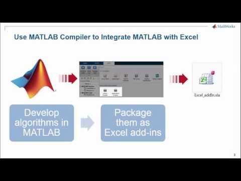 Getting Started Excel Add Ins Using MATLAB Compiler