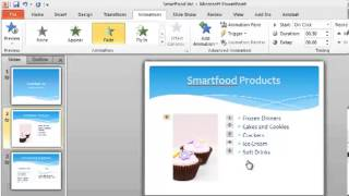 PowerPoint 2010 Tutorial 3 of 6 - Custom Animation