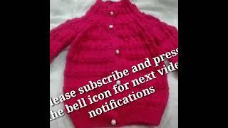 Knitting pattern for kids