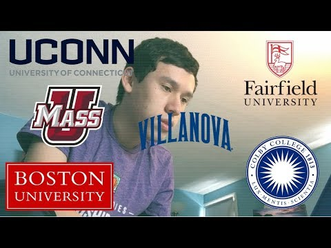 2018 College Decision Reactions (UConn, Villanova, BU, Union, Colby & MORE!!)