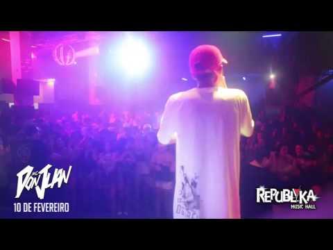 SHOW MC DON JUAN - MARINGÁ - REPUBLYKA MUSIC HALL - TIAGO EVENTOS