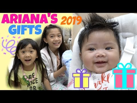 ARIANA'S PRESENTS NEW YEAR 2019