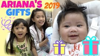 ARIANA'S PRESENTS NEW YEAR 2019