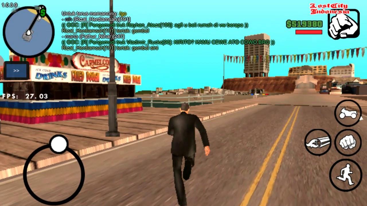 CARA MEMANCING DI GTA SAMP-LOST CITY - YouTube