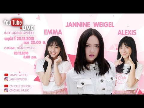 Christmas LIVE Session [EP.6] with Jannine Weigel x Cm Cafe (Alexis & Emma) - วันที่ 20 Dec 2018