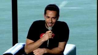 Conversation with Zachary Levi - Nerd HQ 2013  [rus sub]