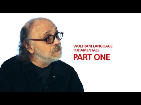 Professor Richard J. Gaylord's Wolfram Language Fundamentals Part One