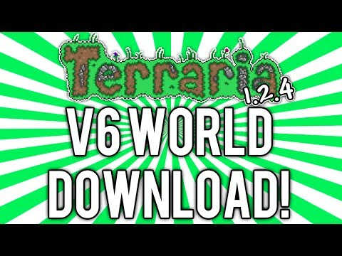 Terraria 1 2 4: UPDATED WORLD DOWNLOAD v6 (ALL Fishing Items