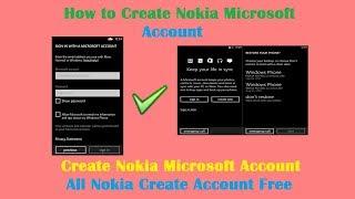 Wie Schaffen Nokia-Microsoft-Konto Letest 2018-Lösung