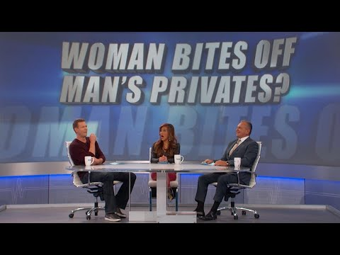 Woman Bites off Man's Privates?