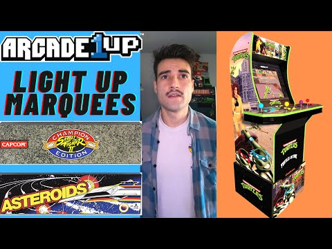 ARCADE1UP FINALLY RELEASED LIGHT UP MARQUEES IN 2020 from Brick Rod