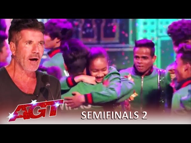 V. Unbeatable: Simon Cowell Makes BOLD Prediction About The Indian Group | America's Got Talent 2019