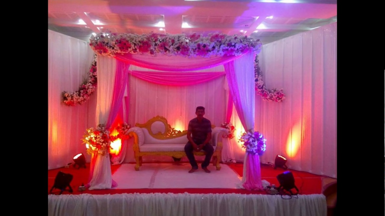 madurai decorators engagement stage decoration @ hotel germanus