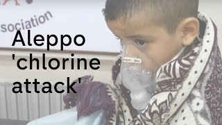 Aleppo: 'Chlorine attack' reported by doctors