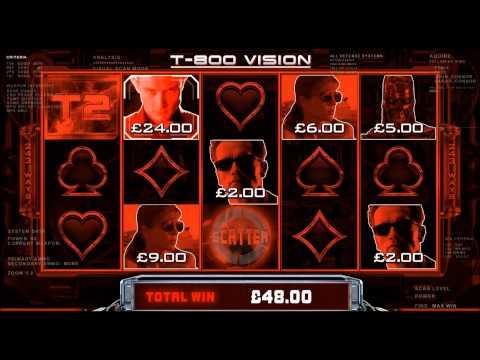Терминатор II новый игровой автомат в онлайн казино Голдфишка