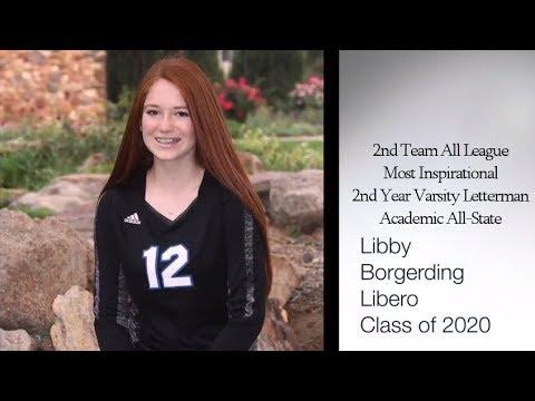 Libby Borgerding 2020 Varsity Libero Highlands Ranch High School 2017 Fall Season Highlights