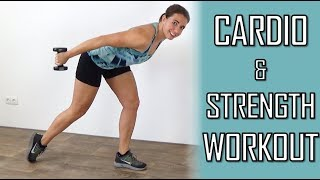 20 Minute Active Strength Workout for Beginners – With Dumbbells at Home