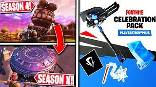 *NEW* Fortnite Update | Rift Beacon is the S4 ROCKET, 1 Hour LTM + PS4 Celebration Pack!!