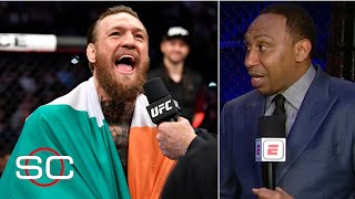 Stephen A.: I got hit more than Conor McGregor in the last week than he did | SportsCenter