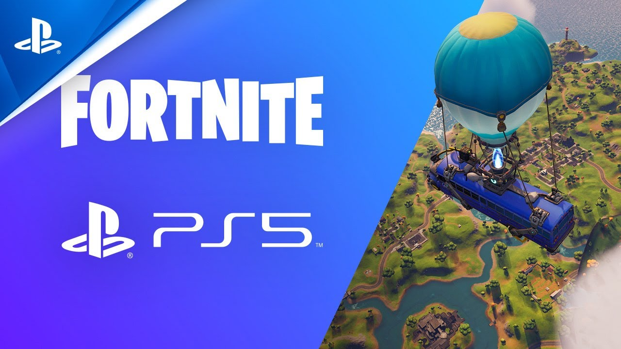 Fortnite - Trailer funzionalità PS5