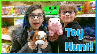Toy Shopping Hunt - Disney Frozen, My Little Pony, Lps, Play-doh, Ice Cream And More