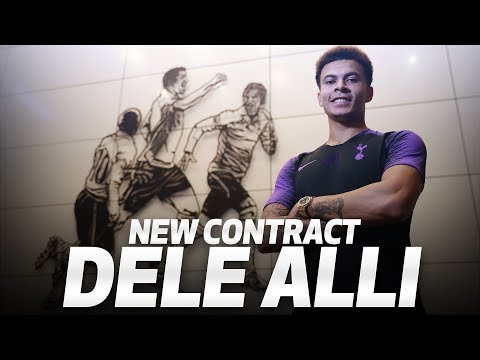 DELE ALLI SIGNS NEW SPURS CONTRACT
