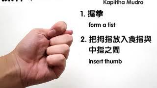 木蘋果手印 - 有助性療癒 / Kapittha Mudra - Helps Sexual Healing