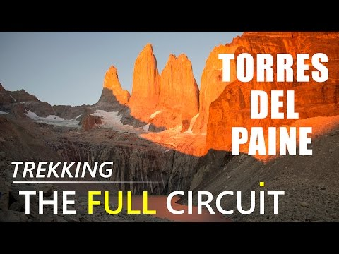 Hiking in Torres del Paine National Park, Chile