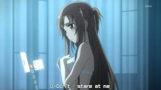 Repeat youtube video Sword Art Online - Asuna is confused (and getting undressed)