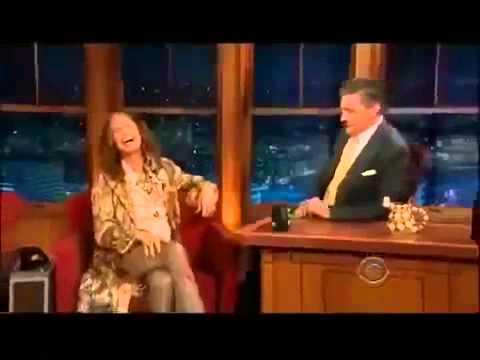 Steven Tyler on Craig Ferguson Late Late Show