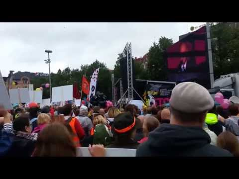 Sampo Terhon vastaus 18.9.2015 suurmielenosoituksessa Helsingissä
