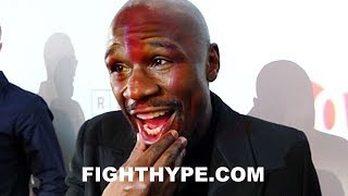 FLOYD MAYWEATHER REACTS TO EDDIE HEARN