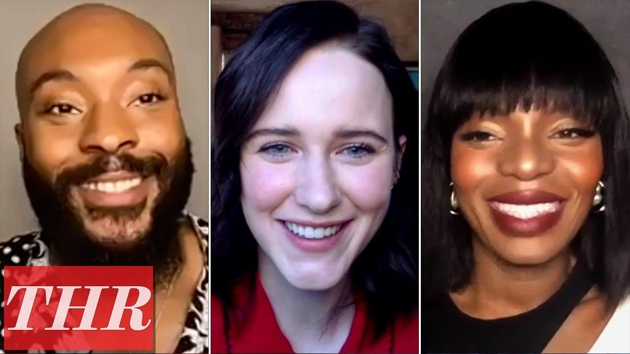 I'm Your Woman Cast: Rachel Brosnahan, Marsha Stephanie Blake and Arinzé Kene | THR Interview