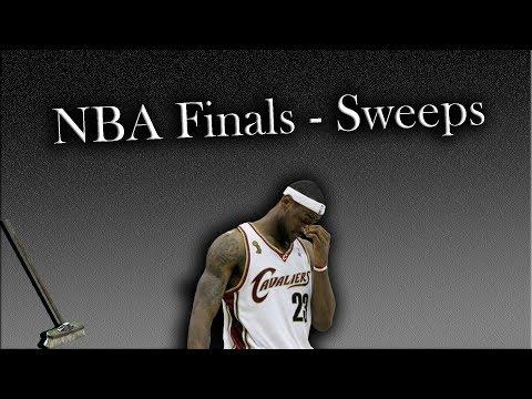 NBA Finals - A History of Sweeps