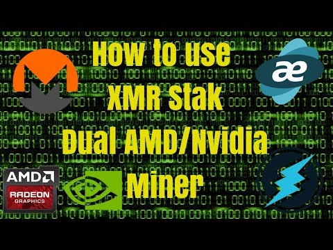 How To Use XMR Stak All-in-One Miner (v2.2)