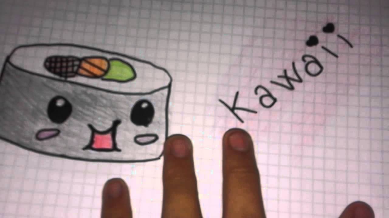 Disegni kawaii youtube for Disegni kawaii facili