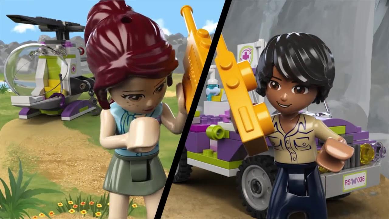 Jungle Bridge Rescue - LEGO Friends - Product Animation ...