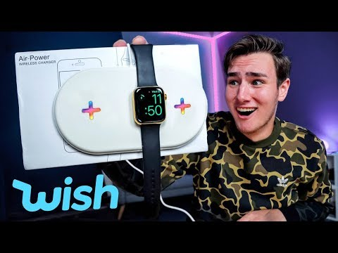 I Bought A $16 AirPower On Wish - Dumbest Products Edition