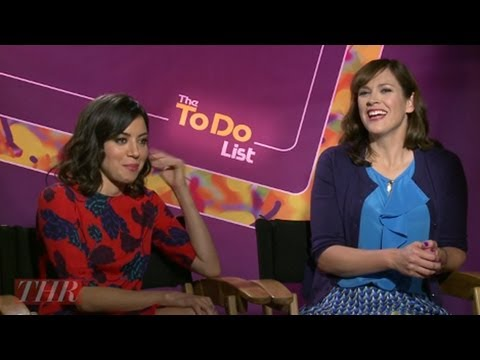 Aubrey Plaza  and Her 'The To Do List' Co-Stars Talk Sex