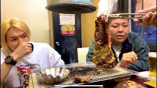 元ヤ◯ザと西成で1番旨い焼き肉食いながら語り合う