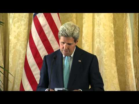 Secretary Kerry Delivers Remarks With Saudi Foreign Minister al-Jubeir