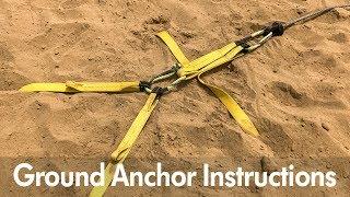 Deadman Instructions: Ground Anchor
