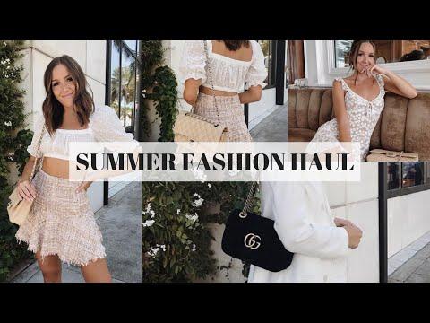 SUMMER FASHION HAUL: Verge Girl, Vici Dolls, Revolve, Sabo Skirt & More   Emma Rose