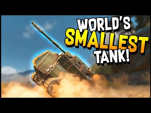 Crossout - WORLD'S SMALLEST TANK GETS EPIC BACKFLIP KILL! - Crossout Gameplay