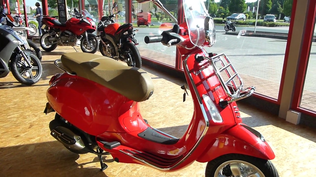 vespa primavera 50 4t 4v mit zubeh r youtube. Black Bedroom Furniture Sets. Home Design Ideas