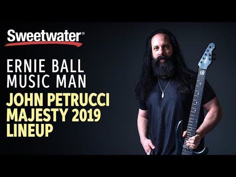 Ernie Ball Music Man John Petrucci Majesty - Tiger Eye | Sweetwater